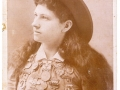 1889 Annie Oakley-with medals