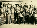 Buffalo Bill with two tribes