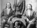 Buffalo Bill with Wild Bill Hickok & Texas Jack