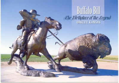 Buffalo Bill Sculpture, Oakley, KS