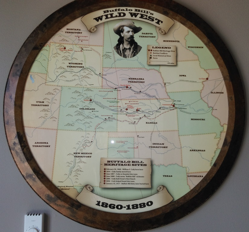 Buffalo Bill's Wild West Map