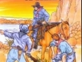 Old West  Coloring Book